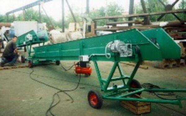 Конвейер передвижной ленточный кпл1-500-6.6