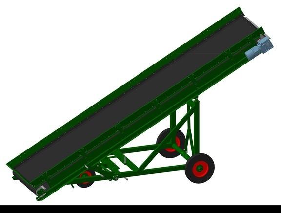 Конвейер передвижной ленточный кпн-1400-6л