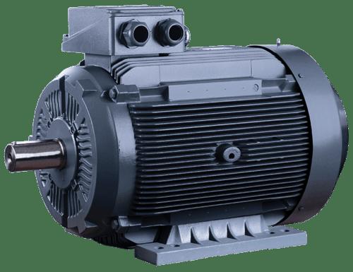 Трехфазный электродвигатель ELK 2EG250M4C-55кВт-1500об/мин
