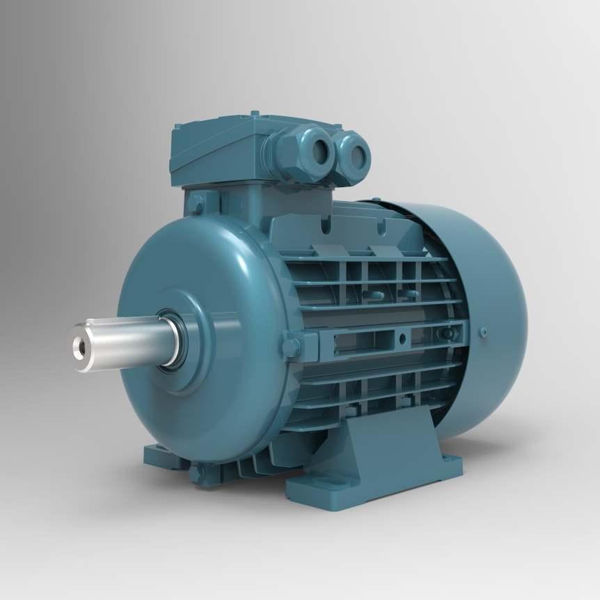 Трехфазный электродвигатель VOLT V2E200L2A-30кВт-3000об/мин